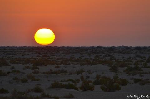Sunrise - Chott el-Jerid - 2011.09.26.
